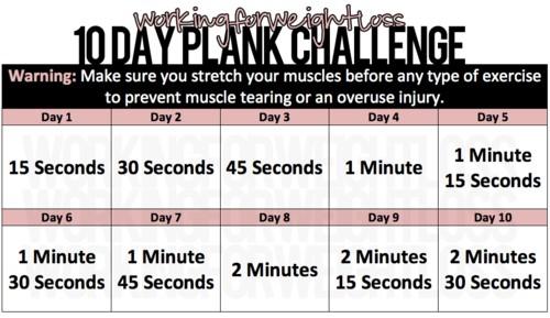 10-day-plank-challenge