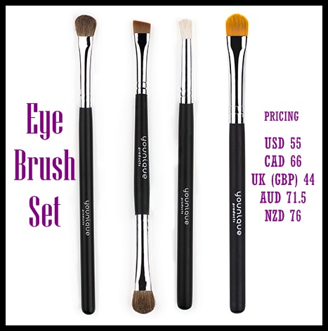 Our four eye-related brushes
