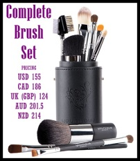 The full brush set