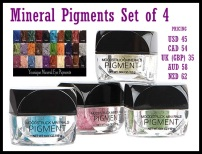 Choose your four favorite pigments!