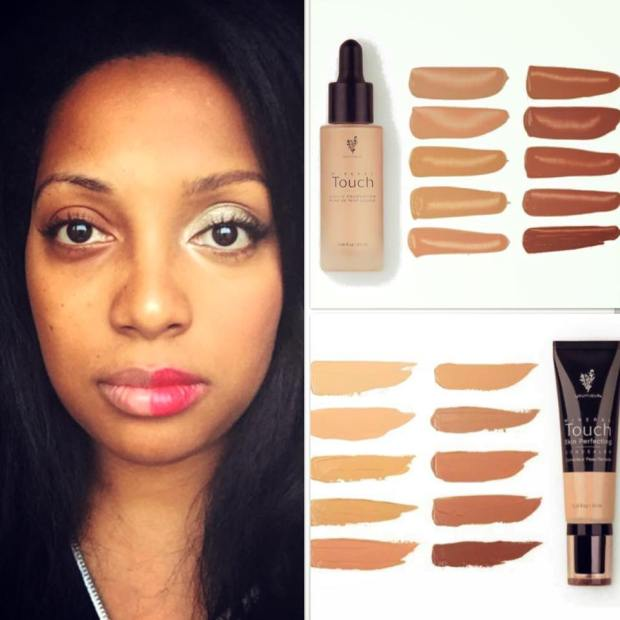 Touch Mineral Liquid Foundation and Skin Perfecting Concealer